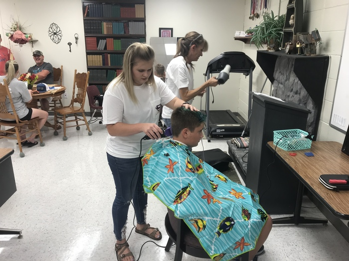 Open house haircuts!!!